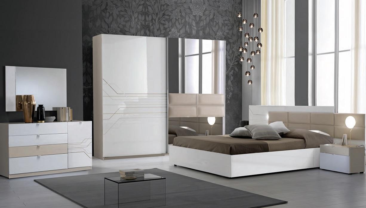 Italienisches Schlafzimmer Set Luana 6-Teilig