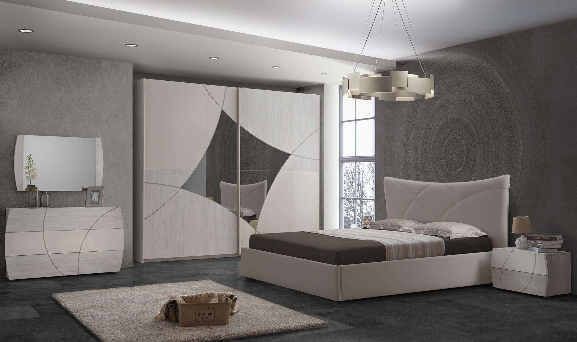Schlafzimmer Komplett Set Atom 21 Teilig