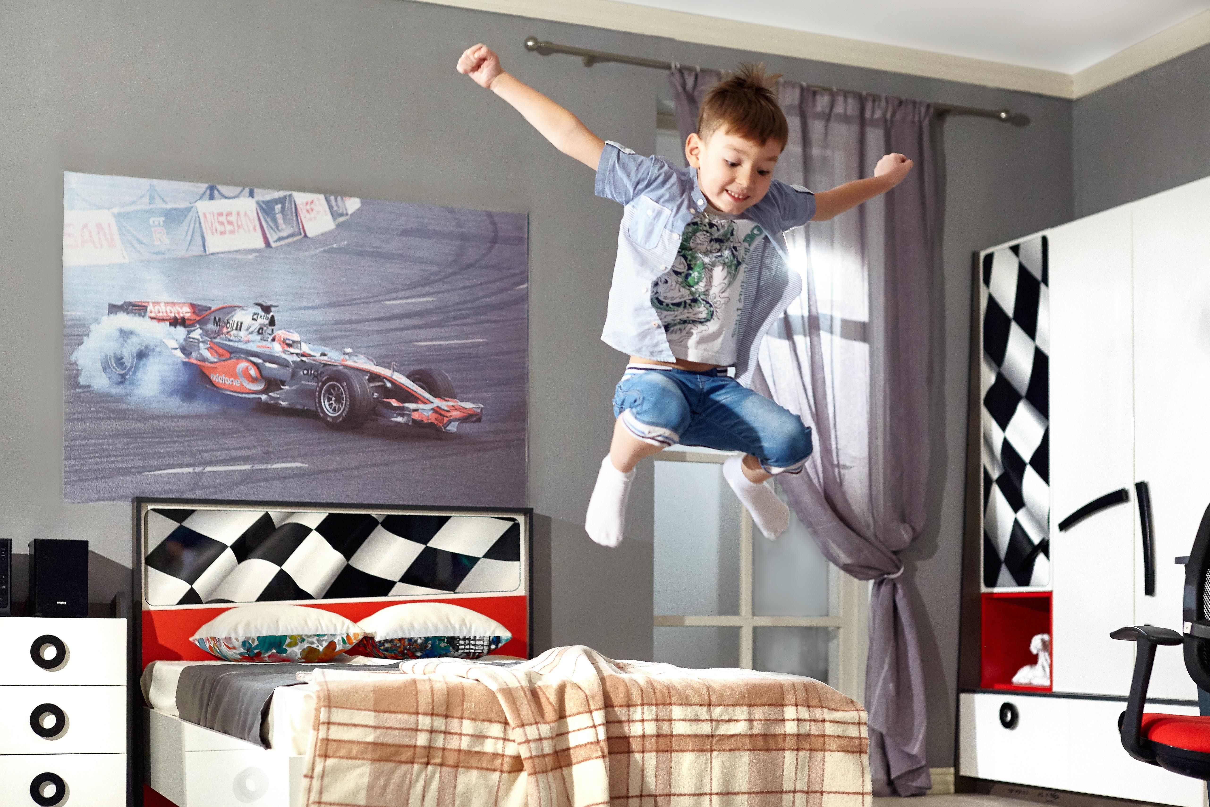 Jugendzimmer Set Racer 7-Teilig