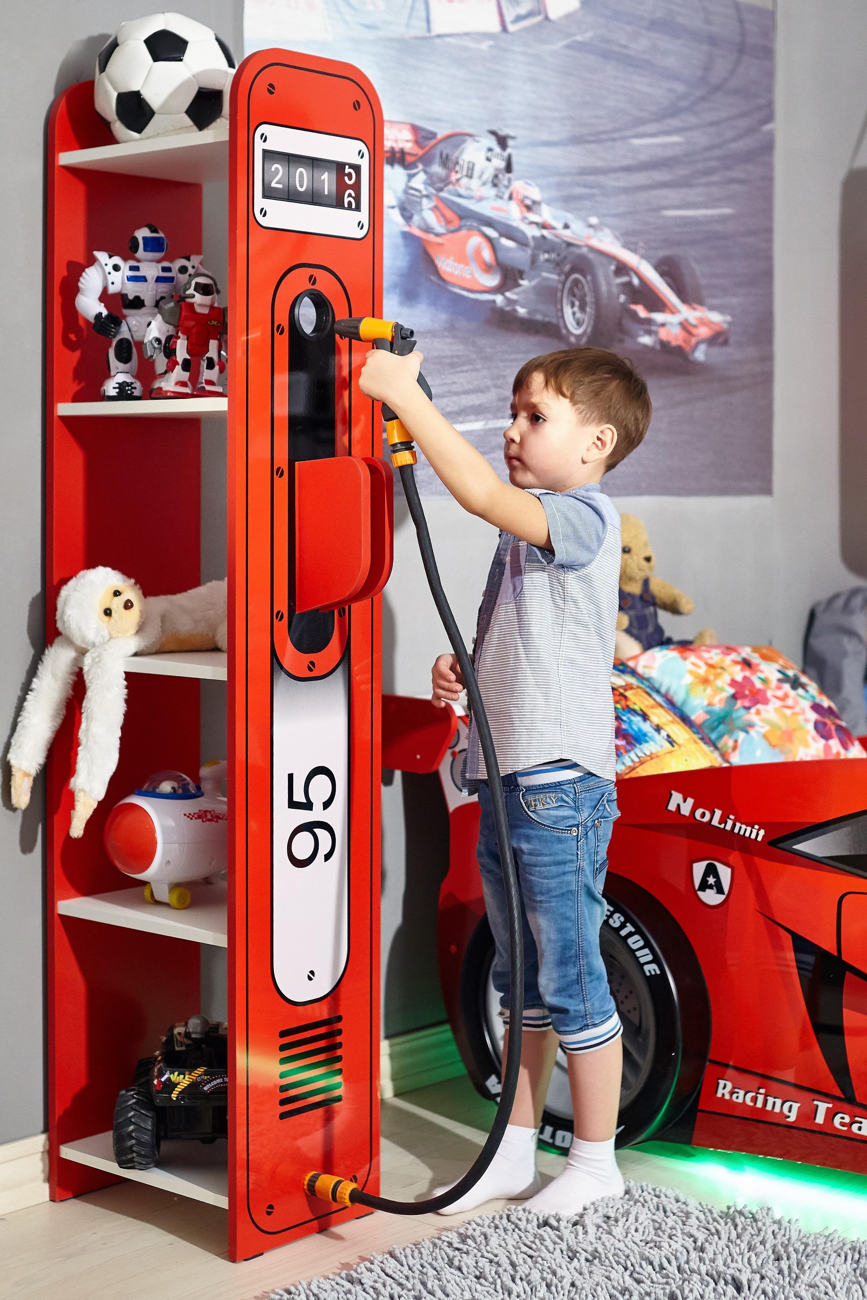 Kinderzimmer Set Racer inkl. Autobett 7-Teilig