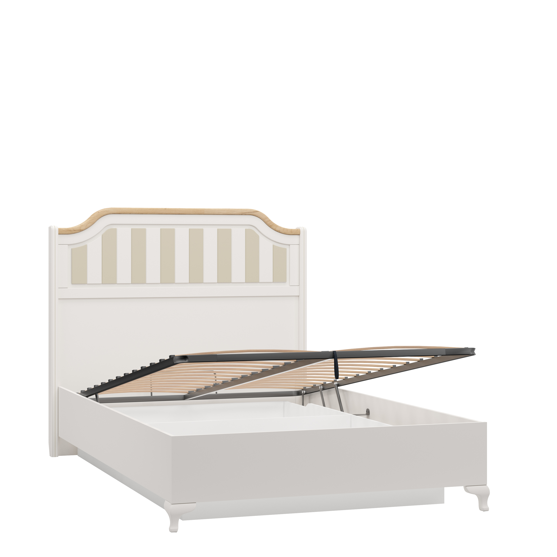 Bett Villagio 120x200 Landhausstil inkl. Bettkasten
