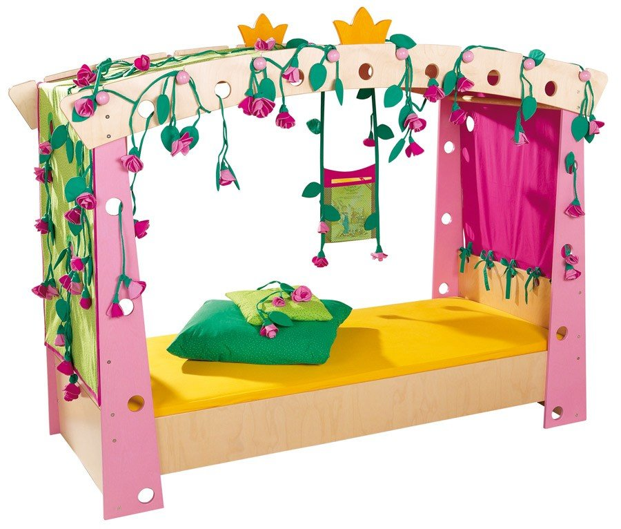 Haba Dornröschen Bett Set 5-Teilig