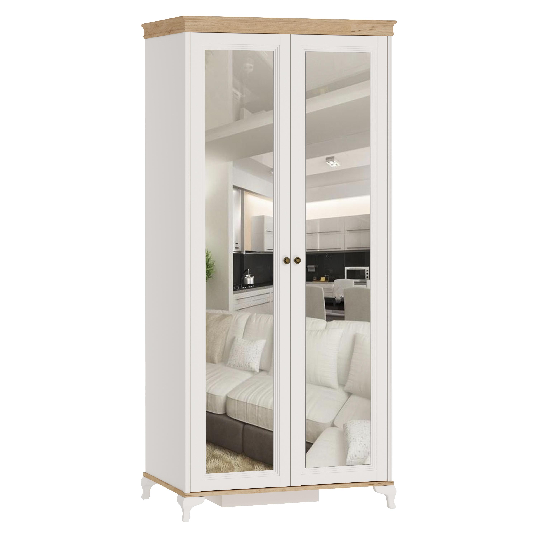 Kleiderschrank 2-Türig Villagio mit Spiegeln
