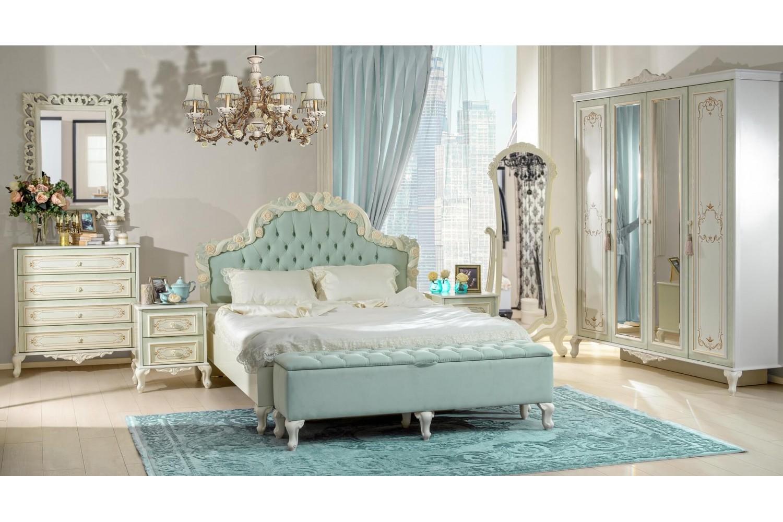 Barock Schlafzimmer Louise Komplett 8-Teilig