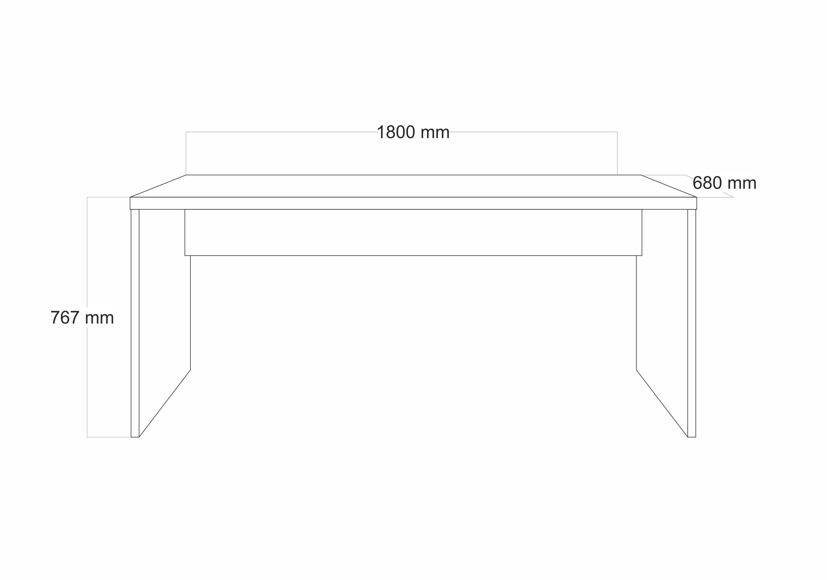 Schreibtisch Glossi in Weiss Hochglanz Lack inkl. Rollcontainer