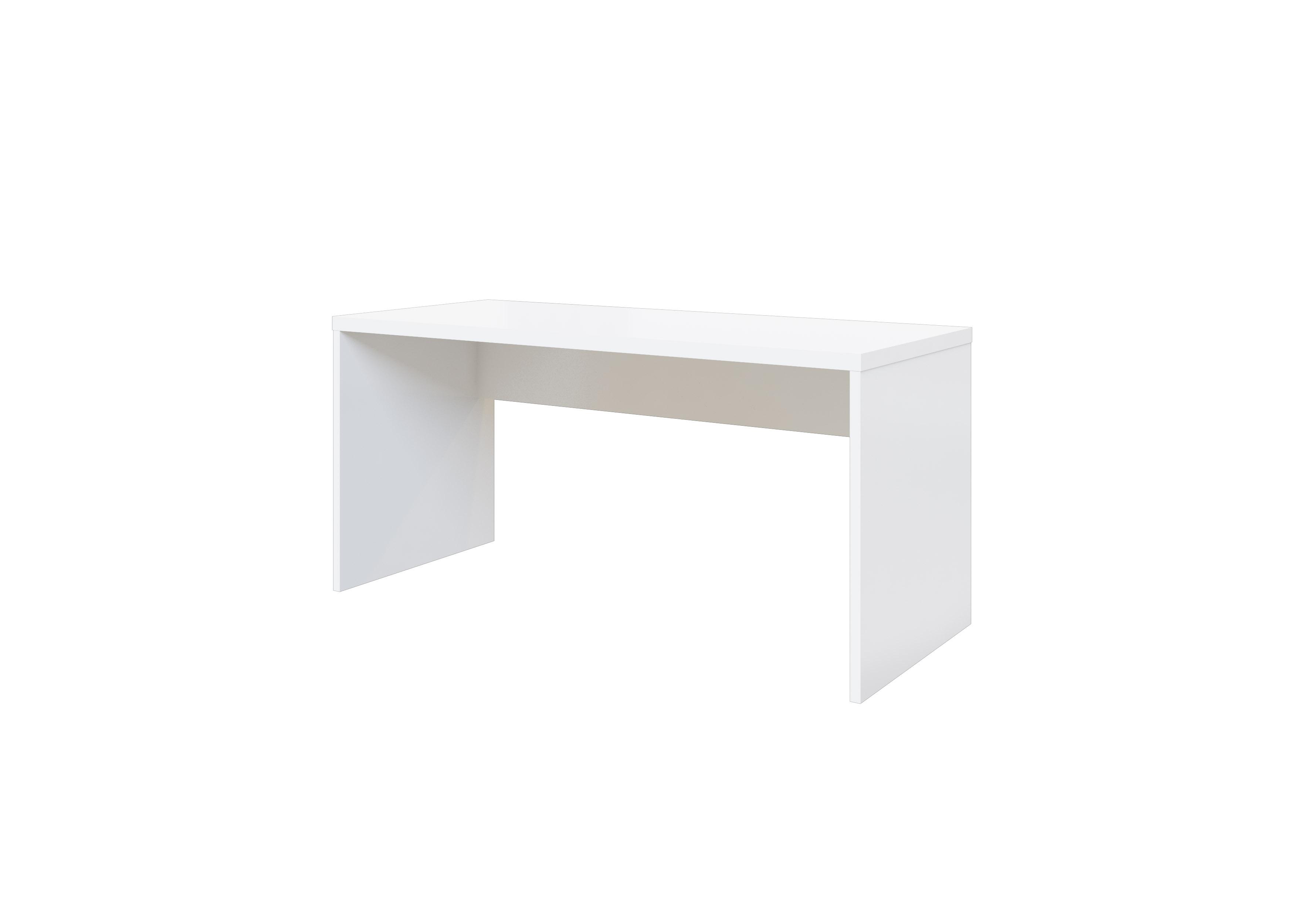 Schreibtisch Glossi in Weiss Hochglanz Lack versch. Größen