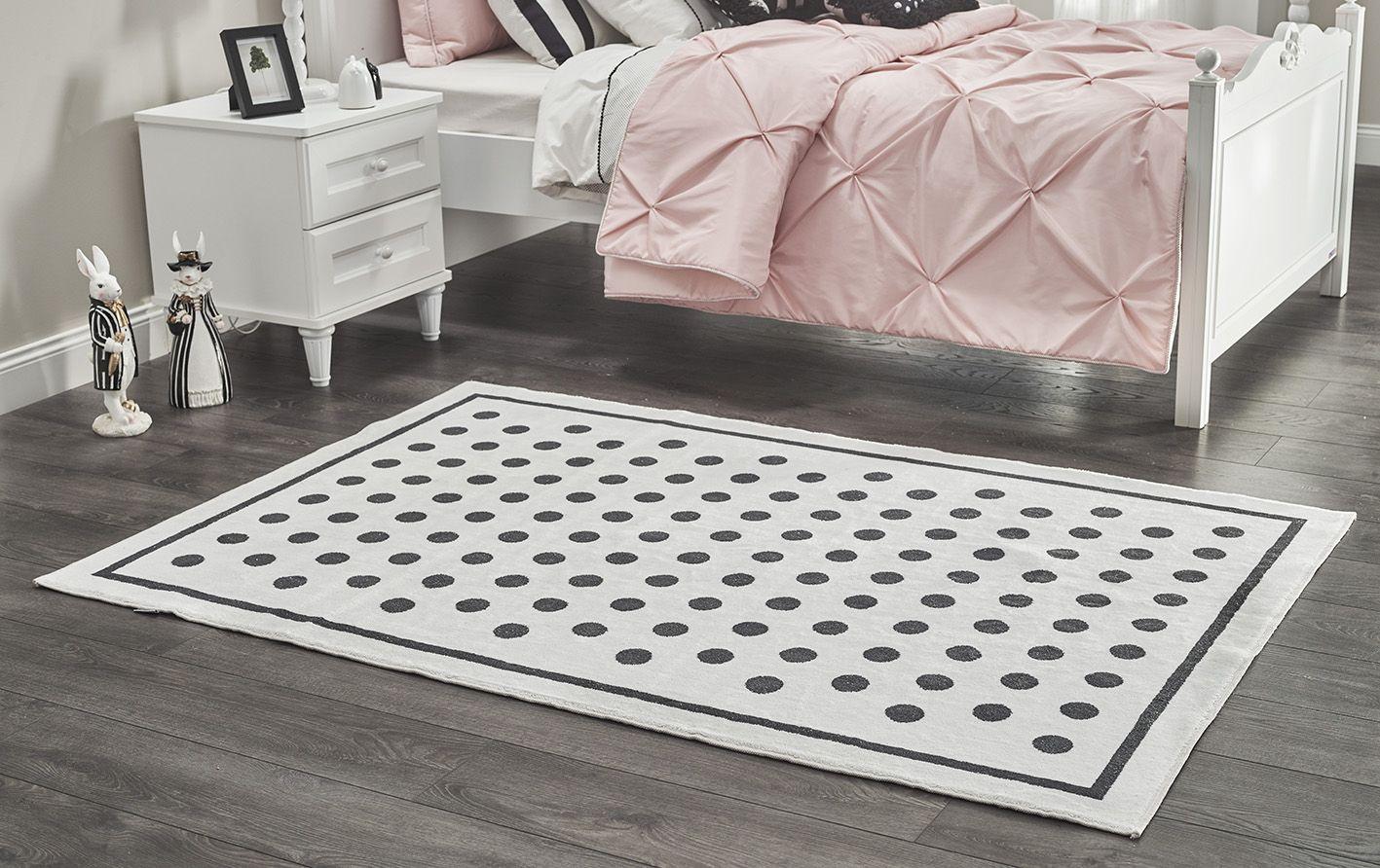 Teppich Lory gepunktet 120x180 cm