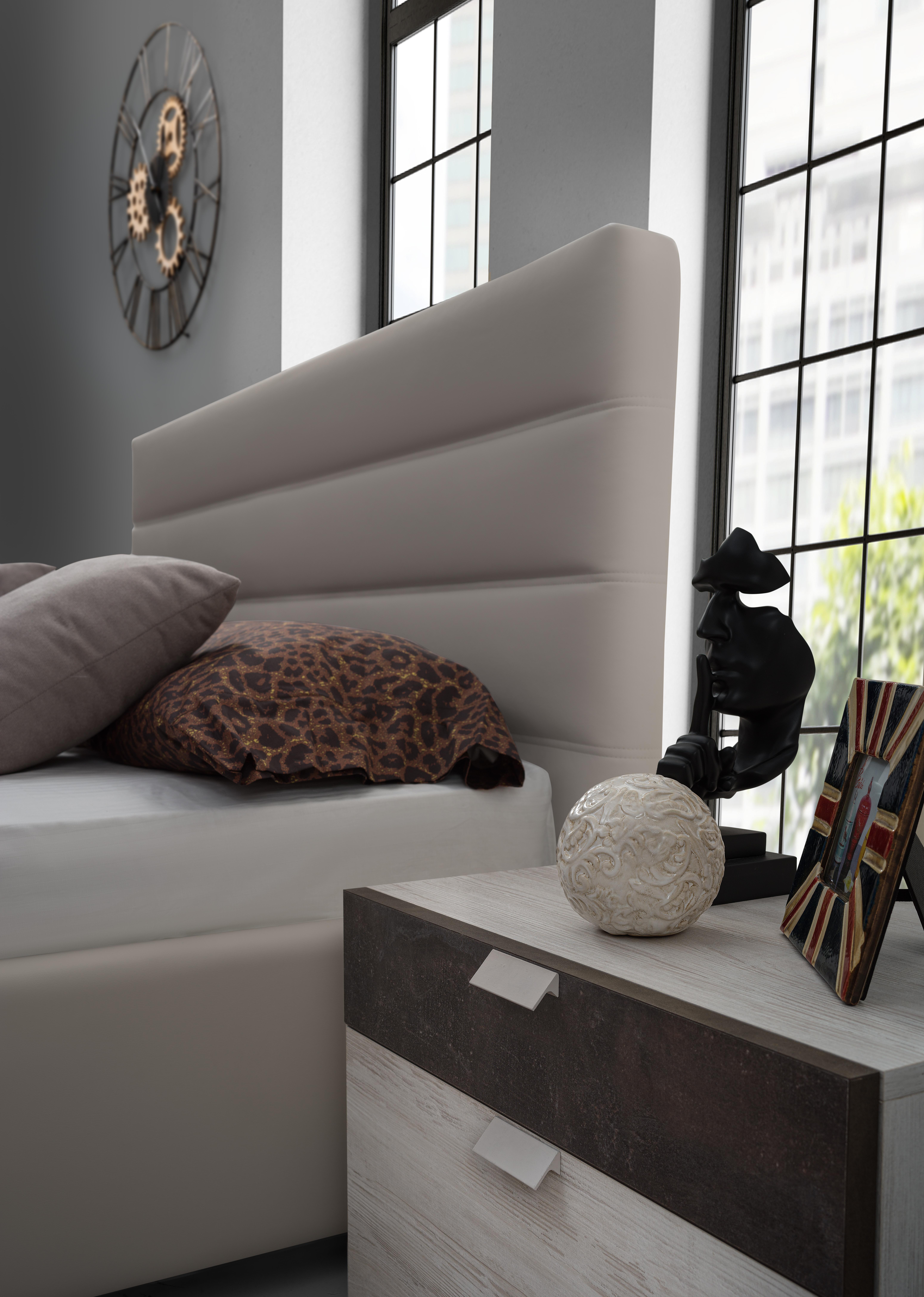 Schlafzimmer Set Urbio in Braun 6-Teilig