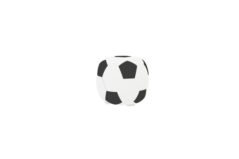 Sitzpouf Football