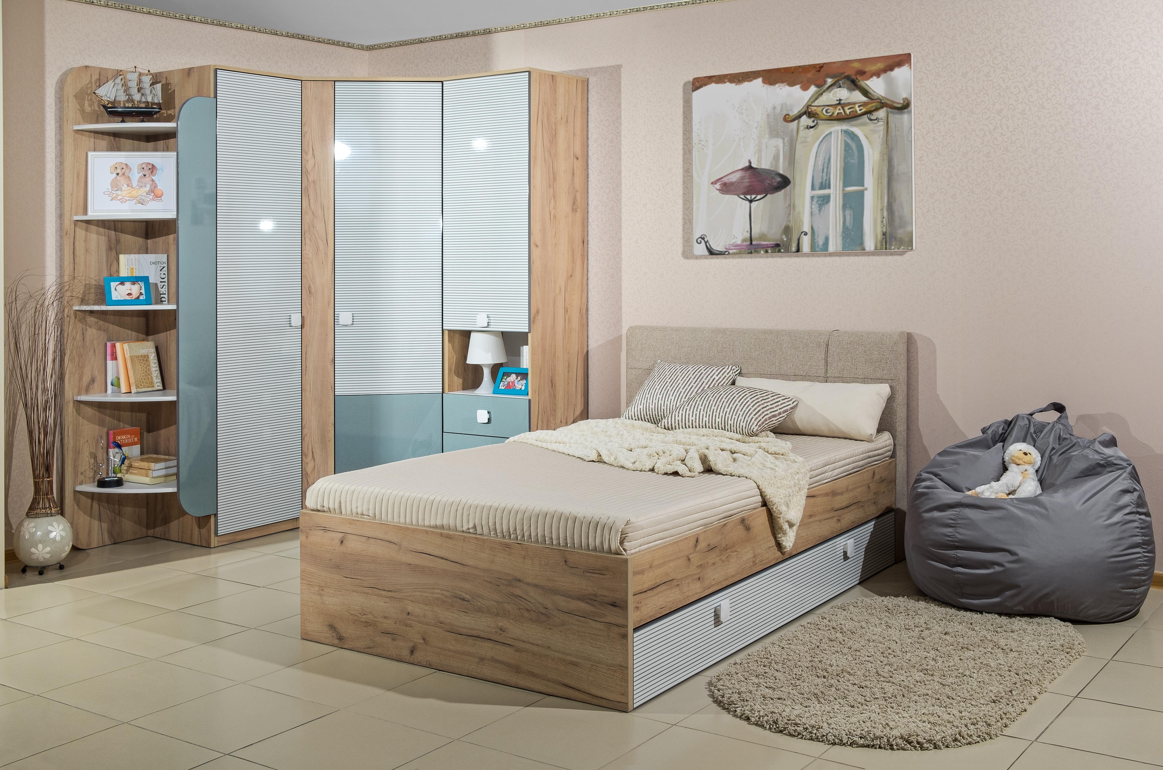 Jugendzimmer Komplett Modex 6-Teilig