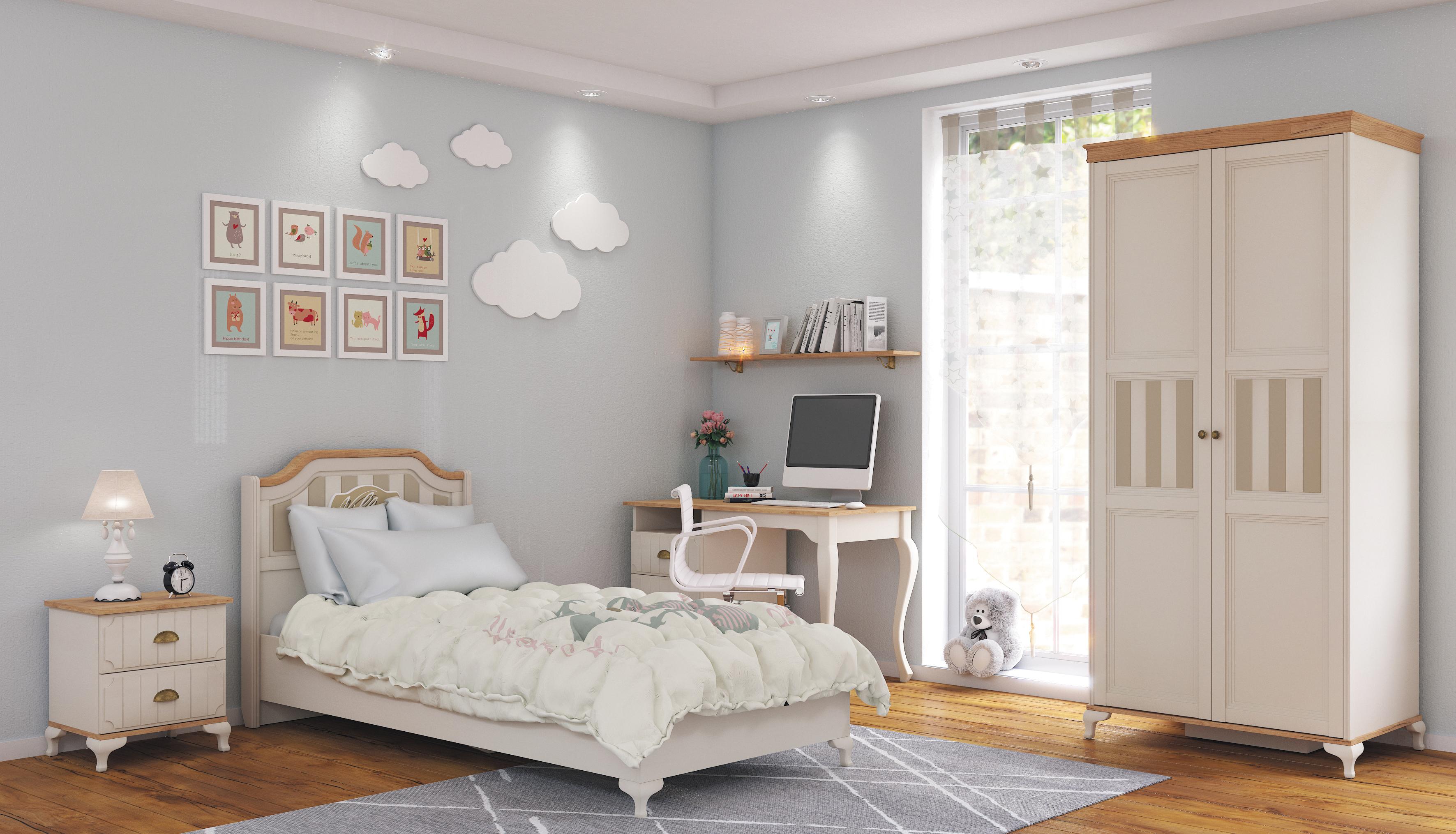 Kinderzimmer Komplett Villagio 5-Teilig Landhausstil