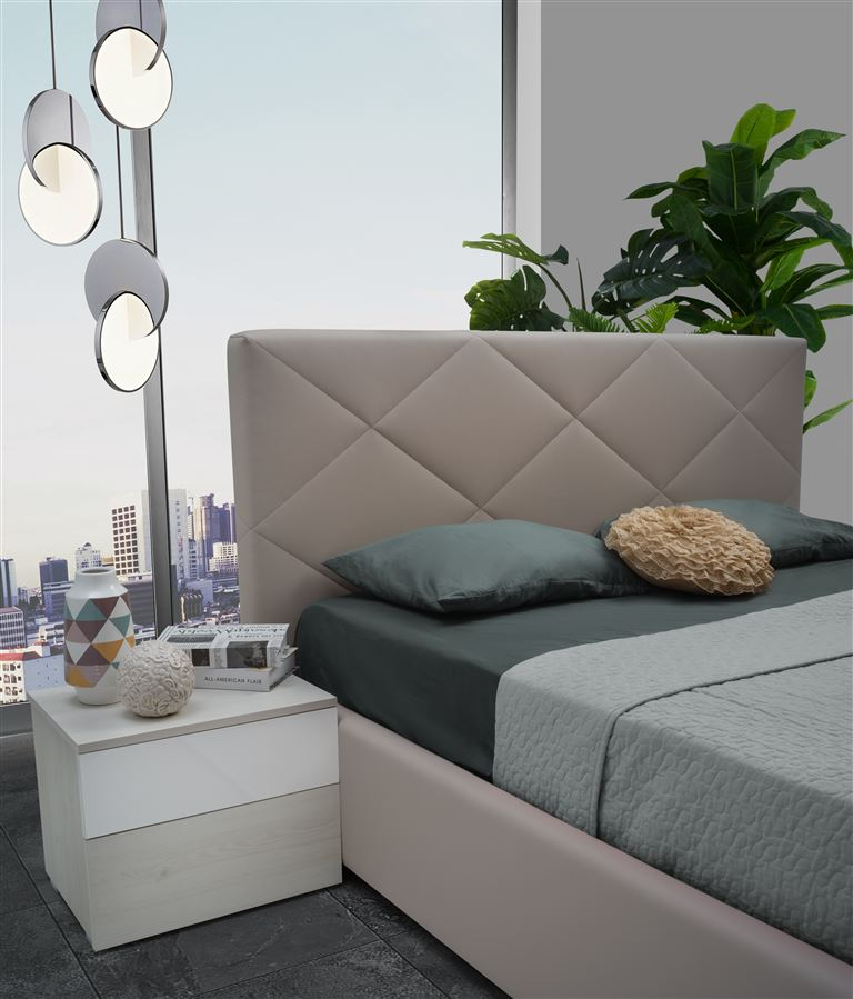Schlafzimmer Set Sefira inkl. Polsterbett 6-Teilig