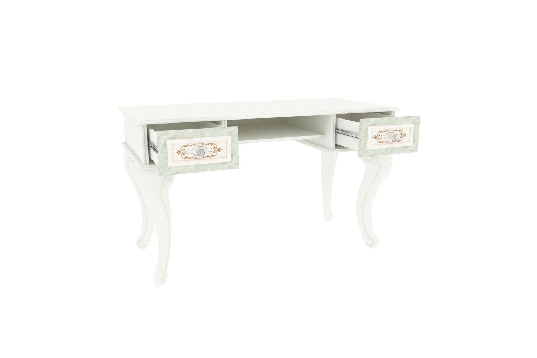 Barock Schreibtisch Louise inkl. 2-Schubladen