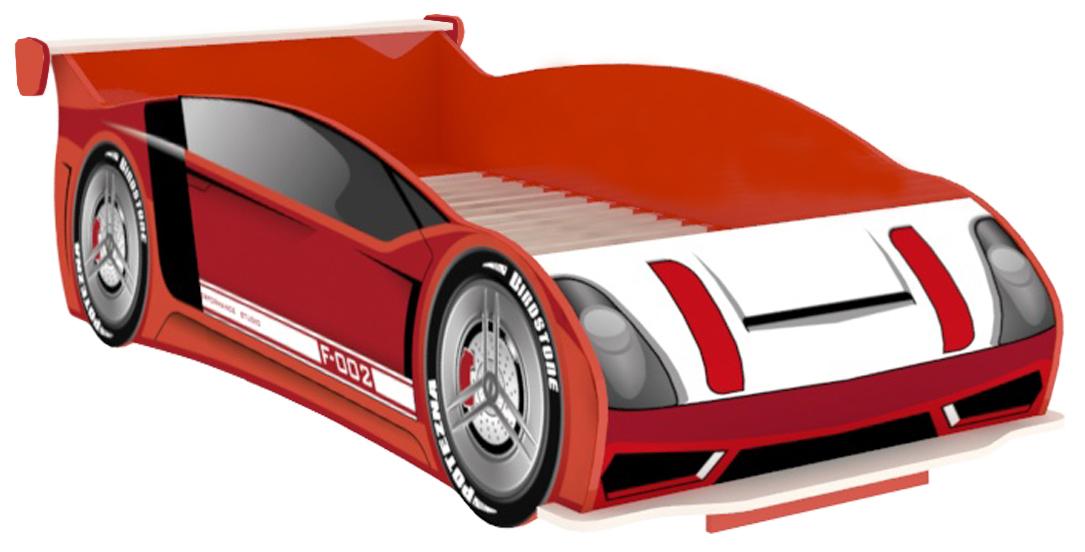 Autobett Racer 90x200 in Rot