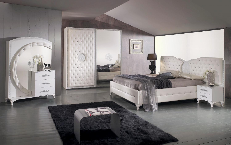 Schlafzimmer Set Ankara in Weiss 5-Teilig
