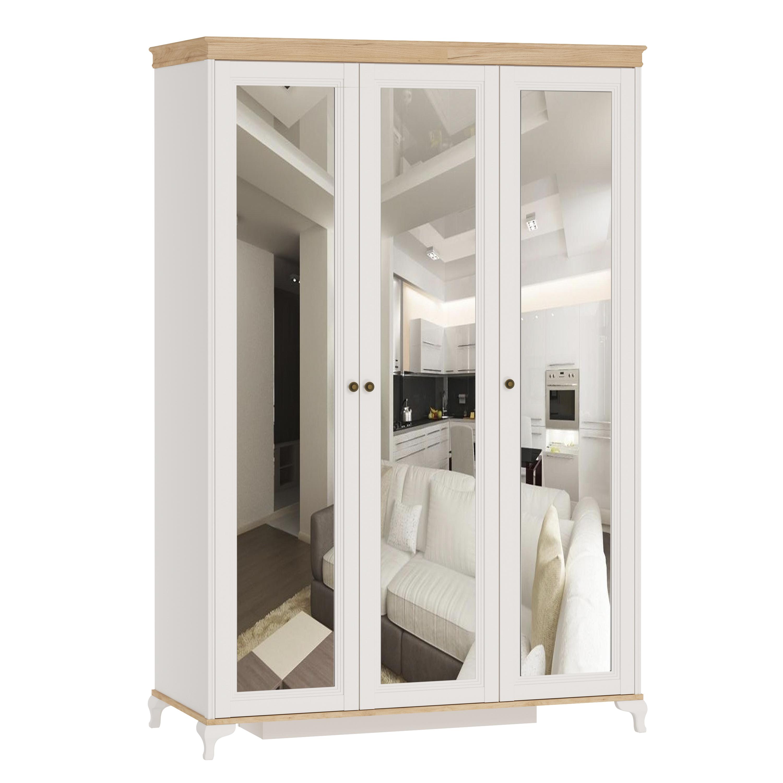 Kleiderschrank 3-Türig Villagio mit Spiegeln