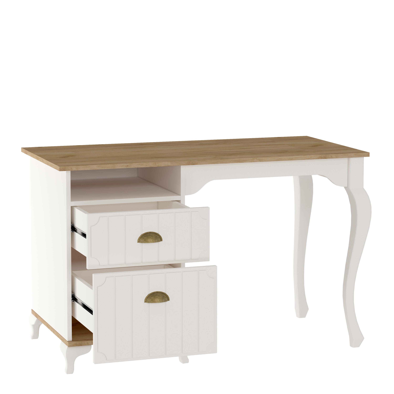 Schreibtisch Villagio inkl. 2-Schubladen